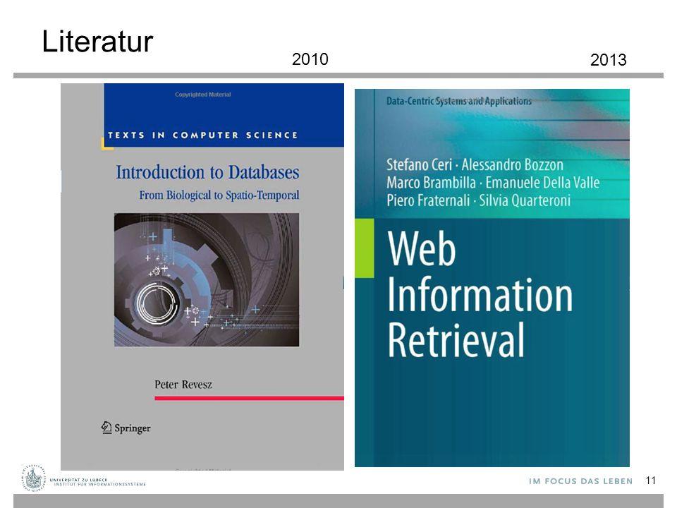 Literatur 2010 2013