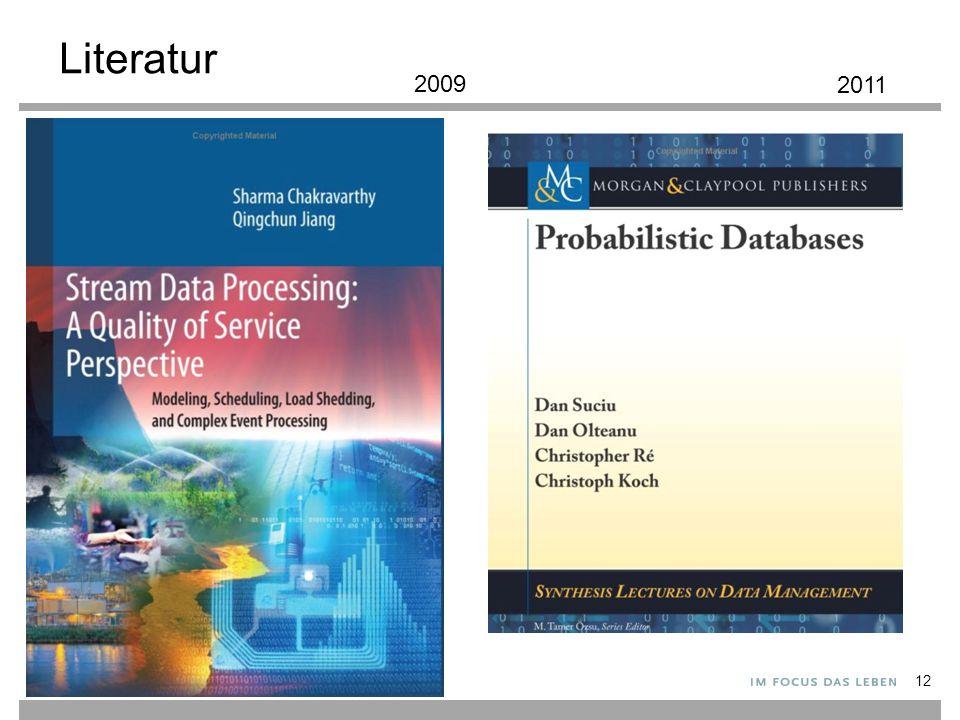 Literatur 2009 2011