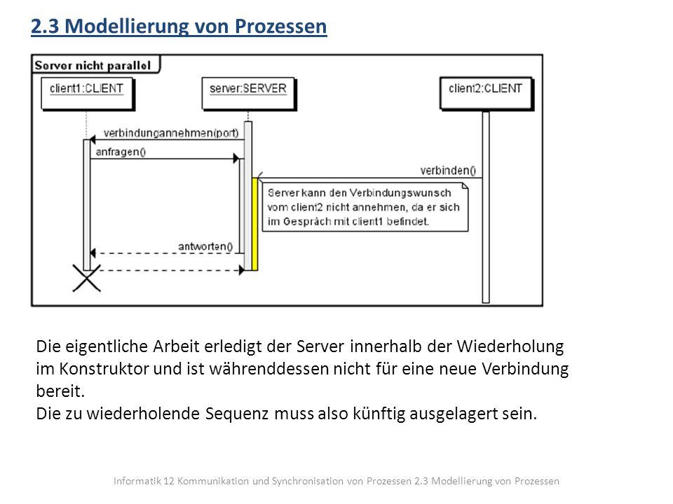2.3 Modellierung von Prozessen