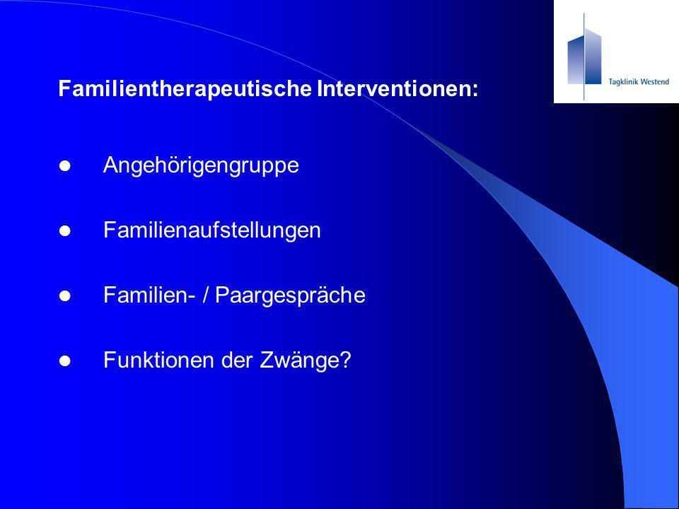 Familientherapeutische Interventionen: