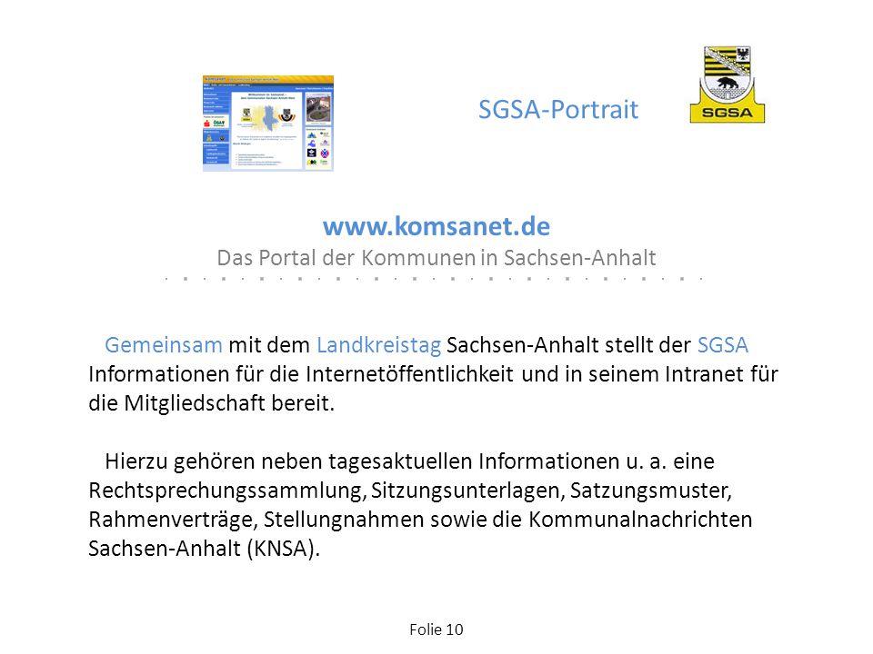 Das Portal der Kommunen in Sachsen-Anhalt
