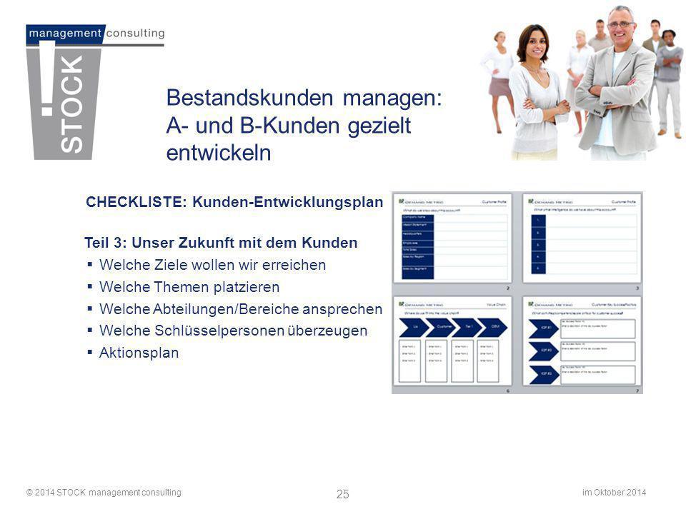 Bestandskunden managen: A- und B-Kunden gezielt entwickeln
