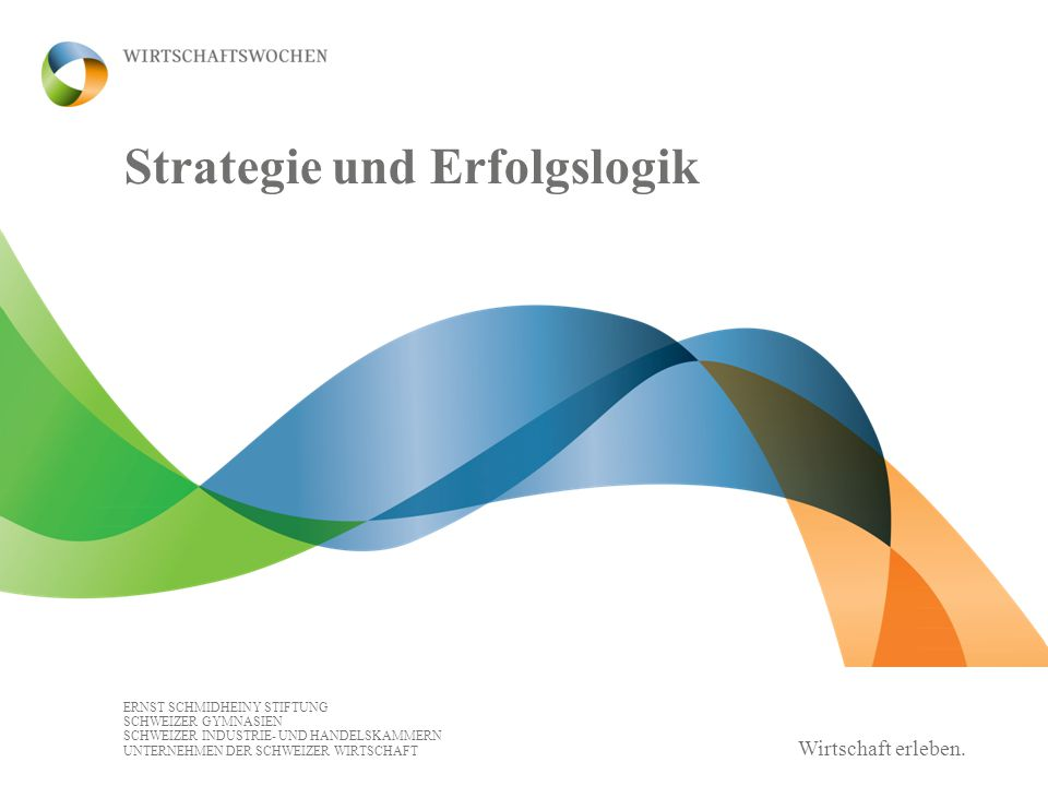 Strategie und Erfolgslogik