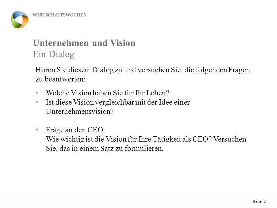Unternehmen und Vision