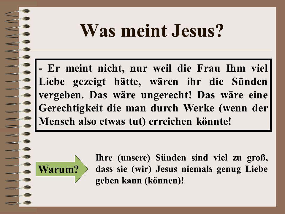 Was meint Jesus