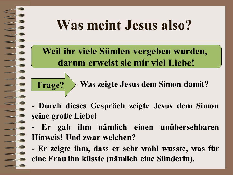 sünderin öl jesus gedanken