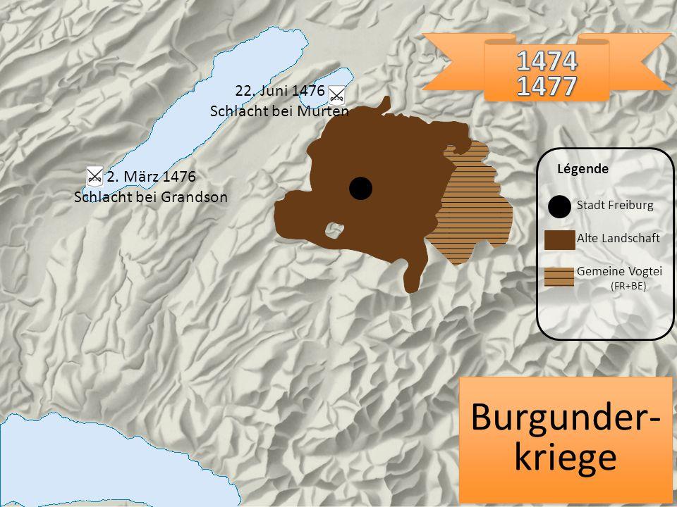 Burgunder-kriege 1474 1477 22. Juni 1476 Schlacht bei Murten
