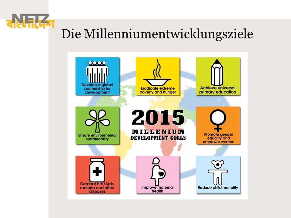 Die Millenniumentwicklungsziele