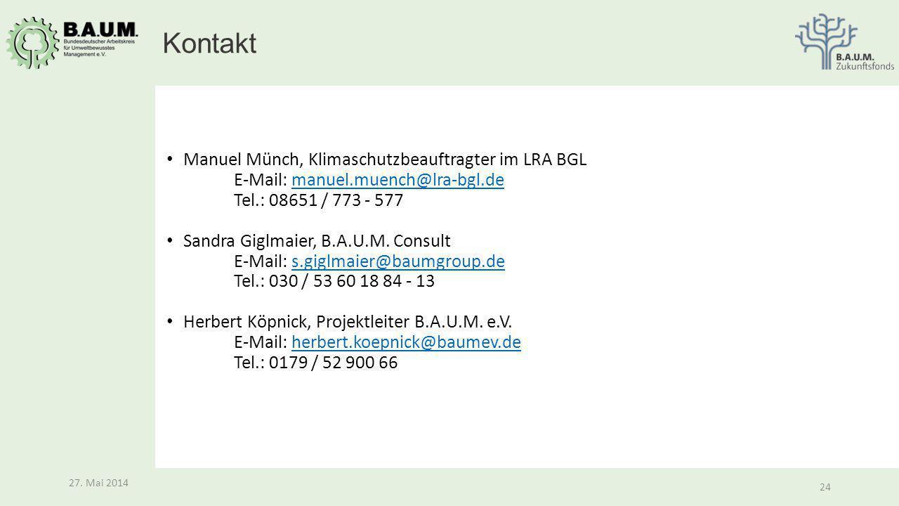 Kontakt Manuel Münch, Klimaschutzbeauftragter im LRA BGL E-Mail: manuel.muench@lra-bgl.de Tel.: 08651 / 773 - 577.