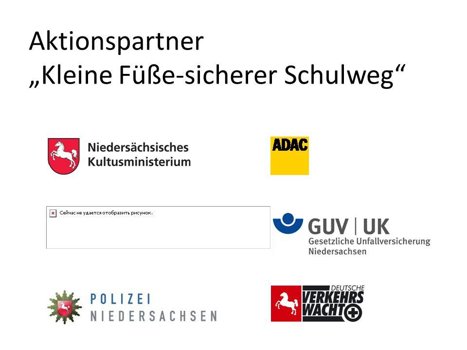 """Aktionspartner """"Kleine Füße-sicherer Schulweg"""