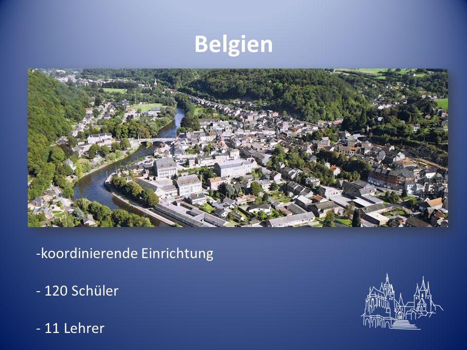 Belgien koordinierende Einrichtung 120 Schüler 11 Lehrer