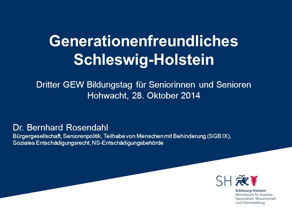 Generationenfreundliches Schleswig-Holstein
