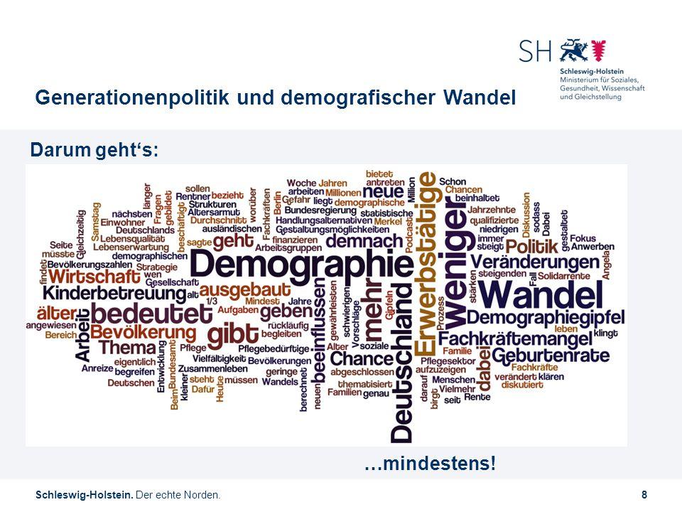Generationenpolitik und demografischer Wandel