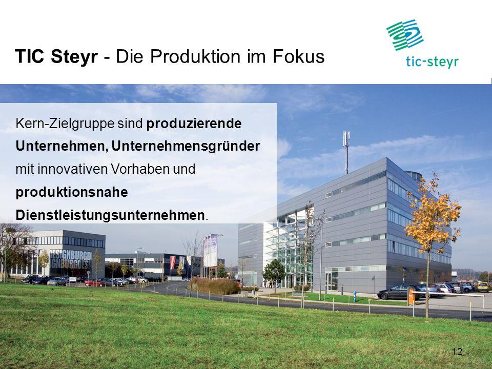 TIC Steyr - Die Produktion im Fokus