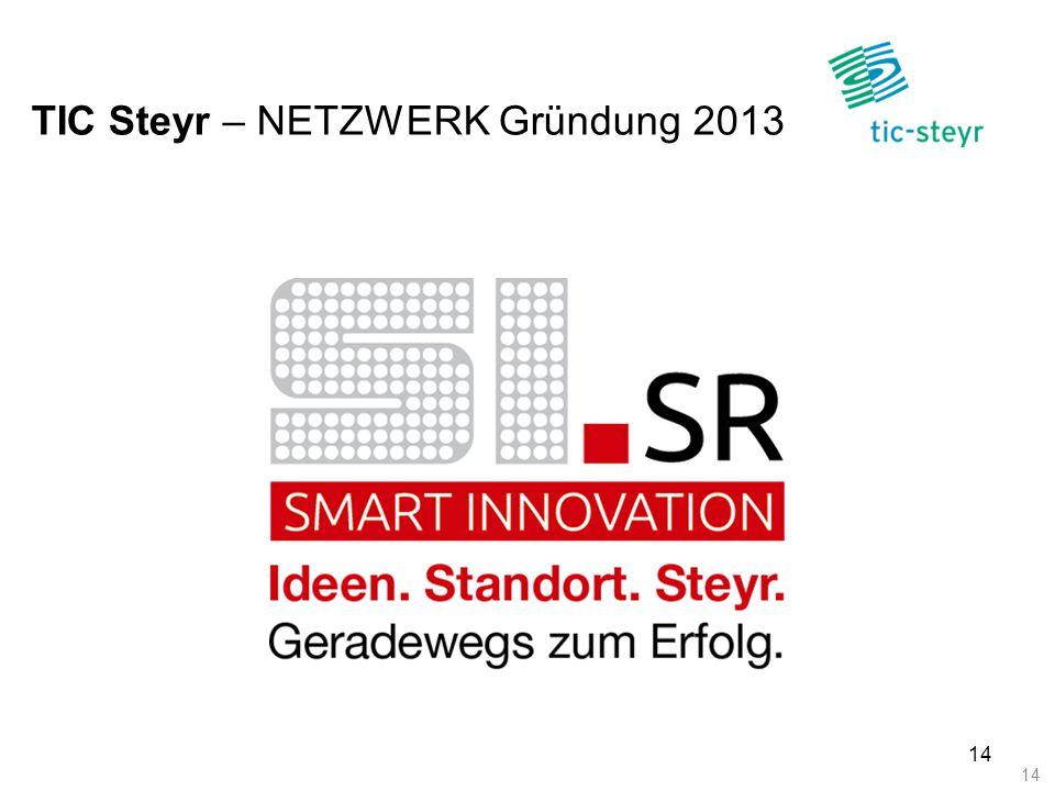 TIC Steyr – NETZWERK Gründung 2013