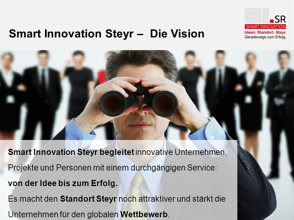 Smart Innovation Steyr – Die Vision