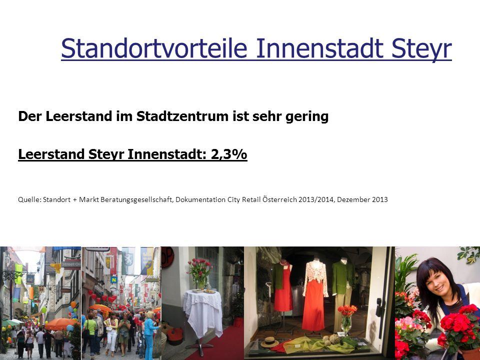 Standortvorteile Innenstadt Steyr