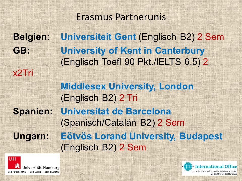Erasmus Partnerunis