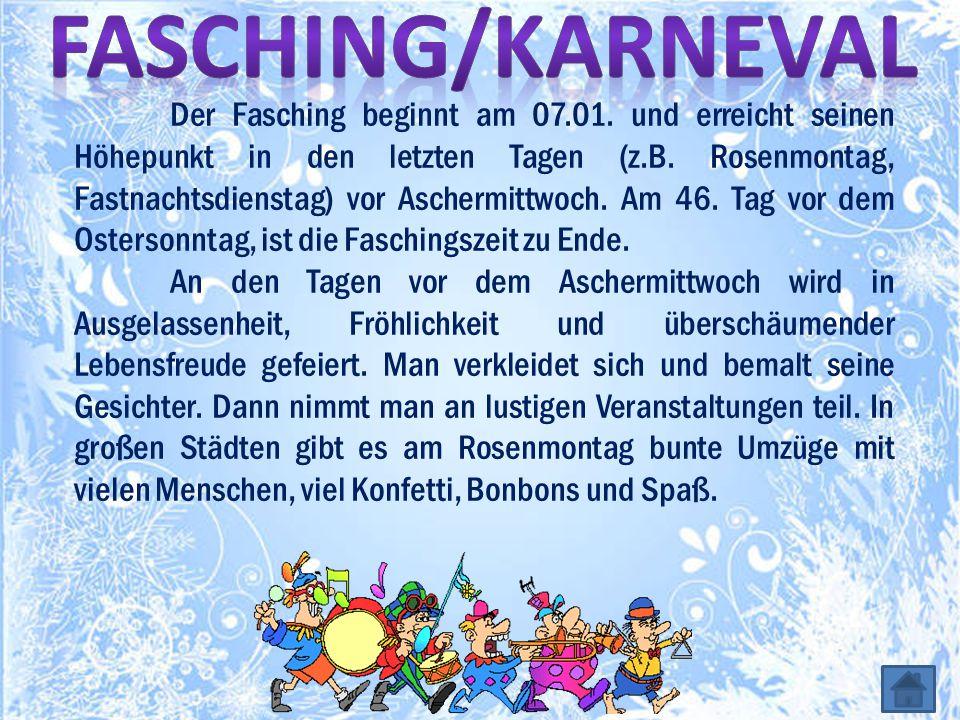 Fasching/Karneval