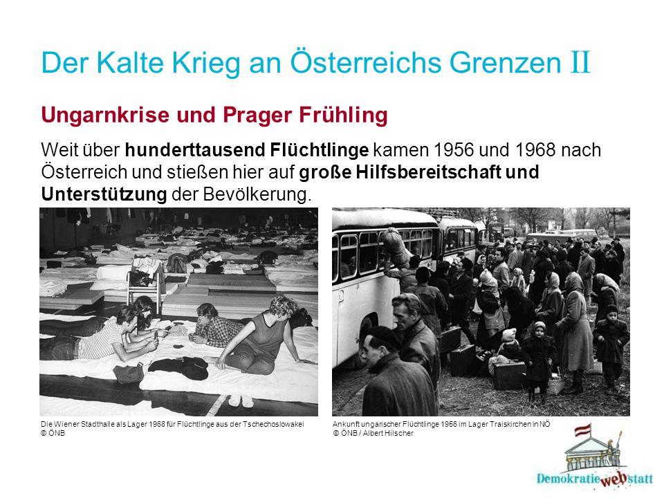 Der Kalte Krieg an Österreichs Grenzen II