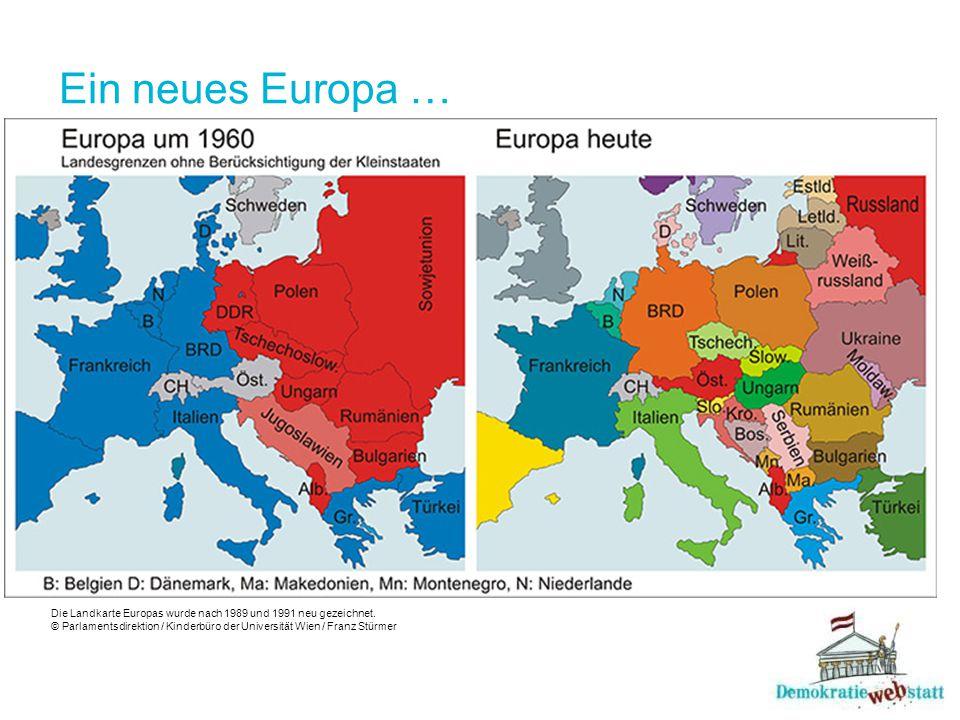 Ein neues Europa …