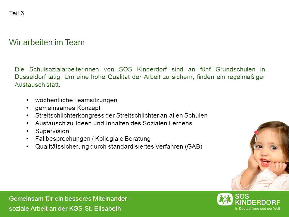 Wir arbeiten im Team Teil 6