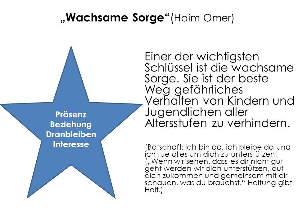 """""""Wachsame Sorge (Haim Omer)"""