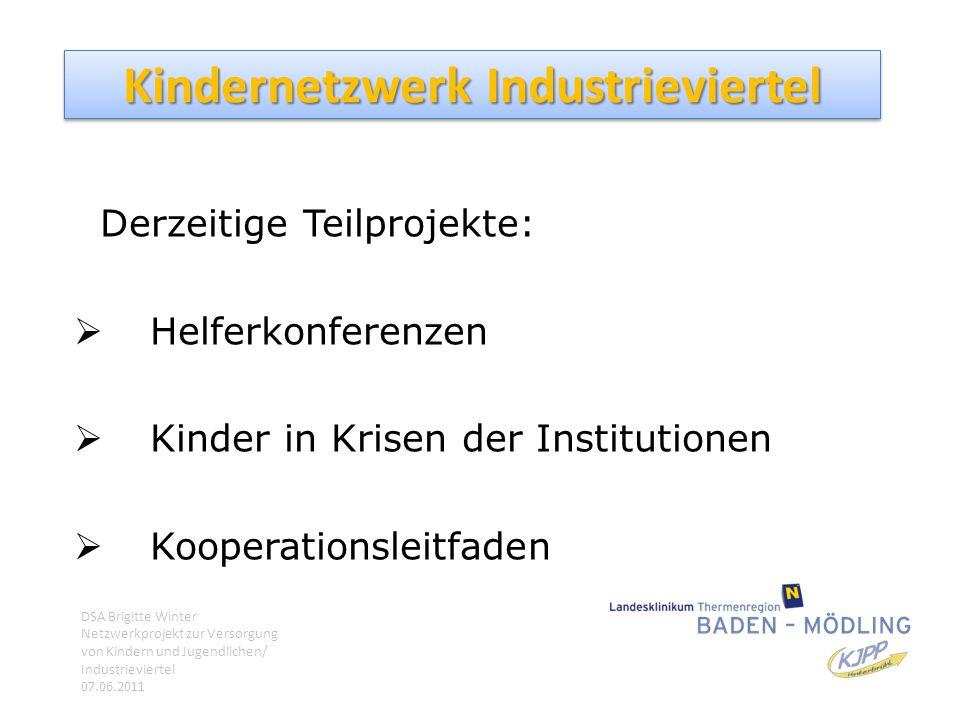 Kindernetzwerk Industrieviertel