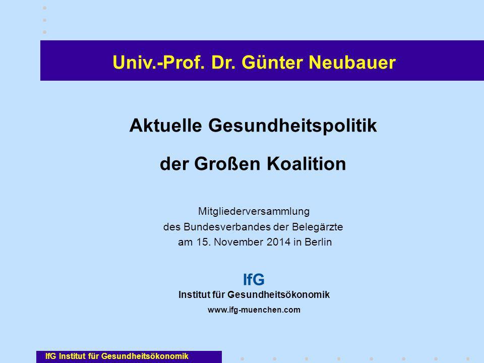 Univ.-Prof. Dr. Günter Neubauer