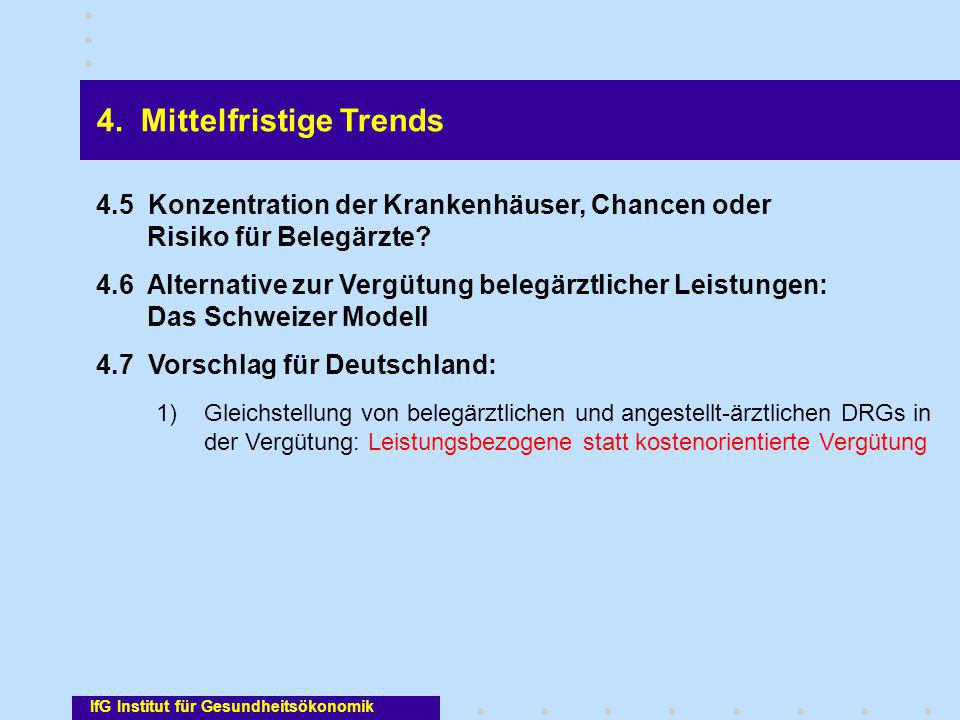 4. Mittelfristige Trends