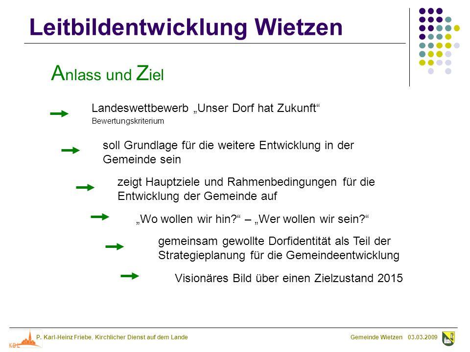 """Anlass und Ziel Landeswettbewerb """"Unser Dorf hat Zukunft"""