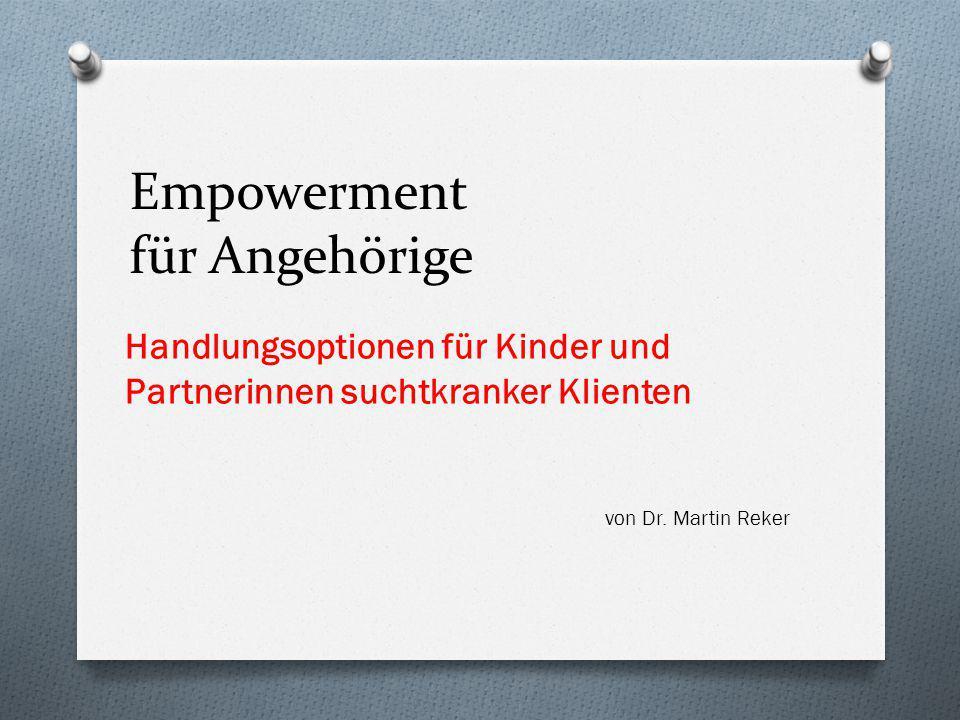 Empowerment für Angehörige