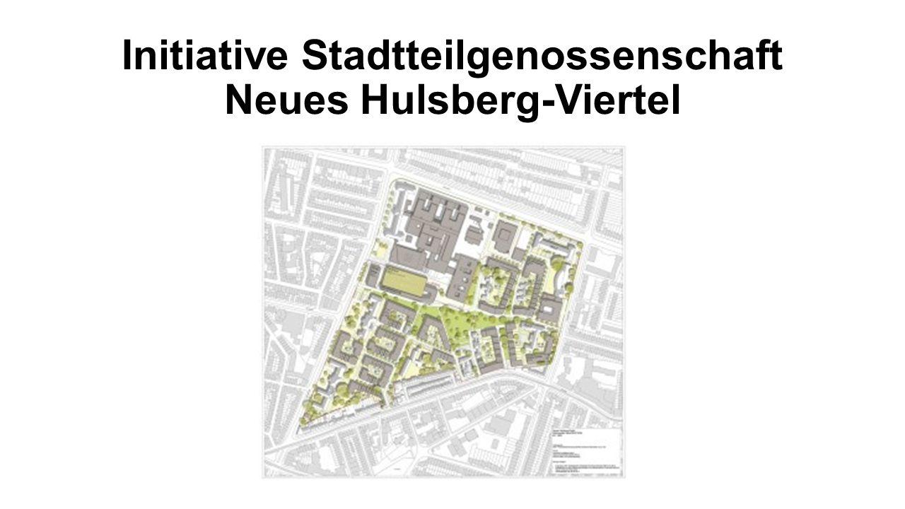 Initiative Stadtteilgenossenschaft Neues Hulsberg-Viertel