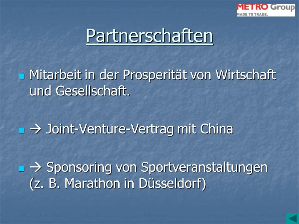 Partnerschaften Mitarbeit in der Prosperität von Wirtschaft und Gesellschaft.  Joint-Venture-Vertrag mit China.