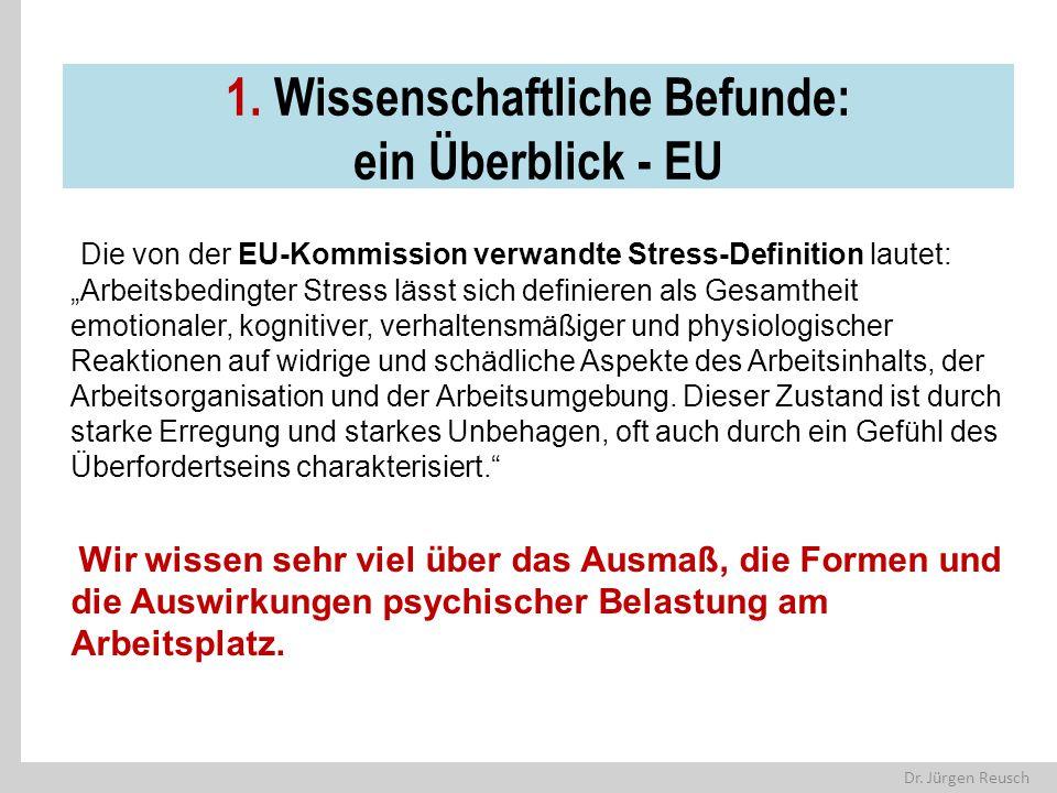 1. Wissenschaftliche Befunde: ein Überblick - EU