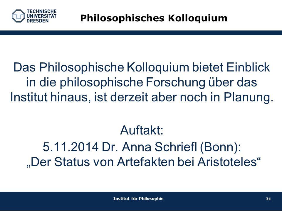 Philosophisches Kolloquium