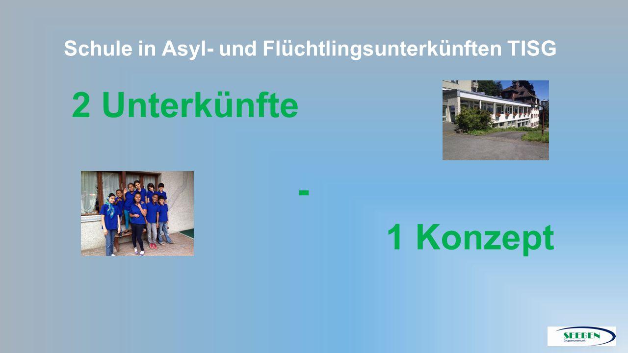 Schule in Asyl- und Flüchtlingsunterkünften TISG