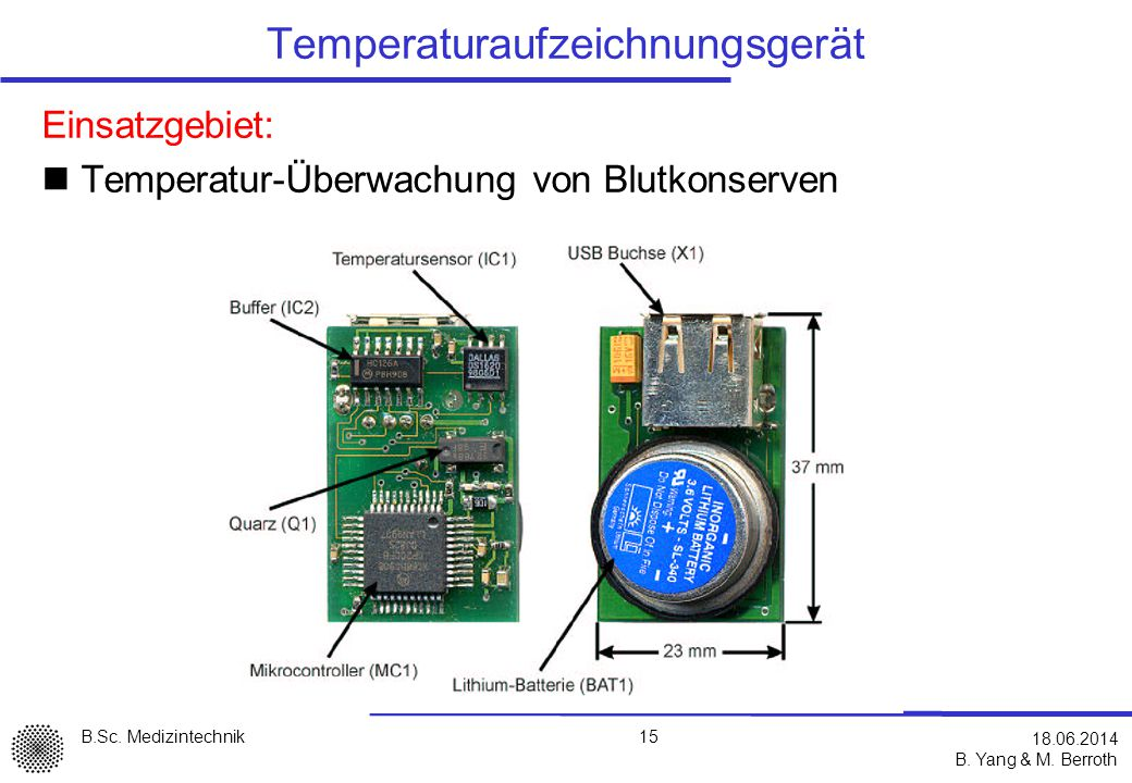 Temperaturaufzeichnungsgerät