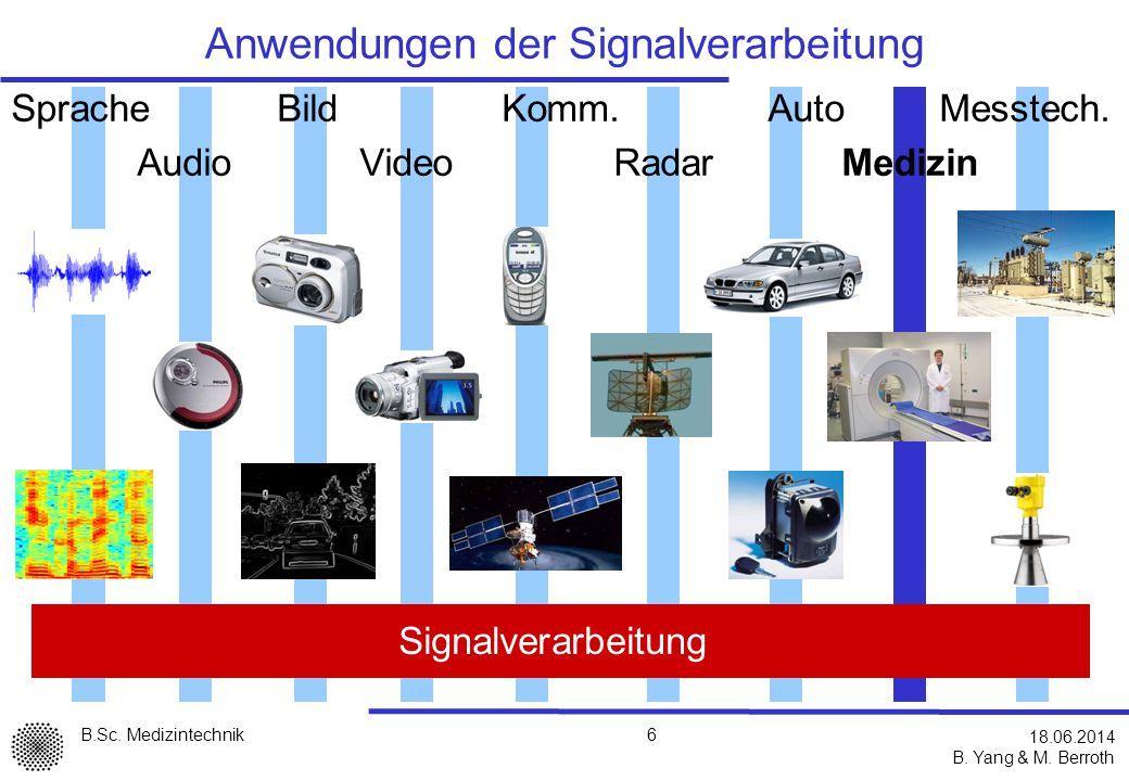 Anwendungen der Signalverarbeitung