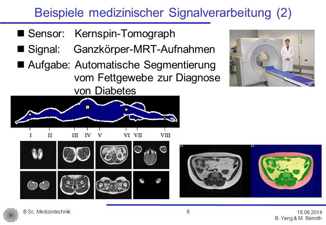 Beispiele medizinischer Signalverarbeitung (2)