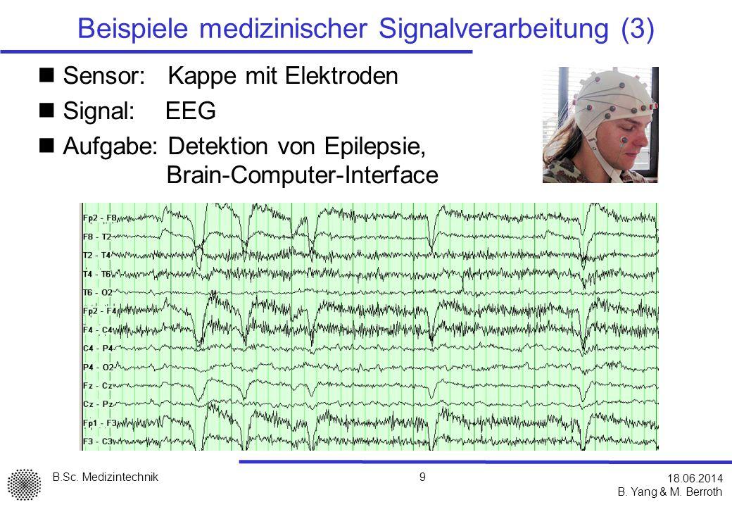 Beispiele medizinischer Signalverarbeitung (3)