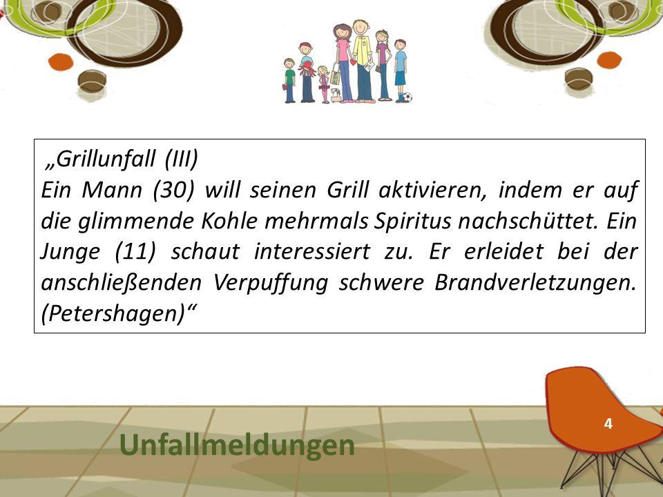 "Unfallmeldungen ""Grillunfall (III)"