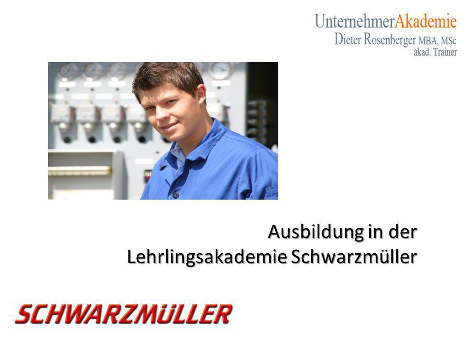 Ausbildung in der Lehrlingsakademie Schwarzmüller