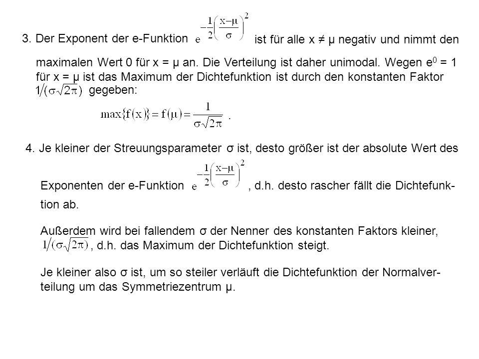 3. Der Exponent der e-Funktion