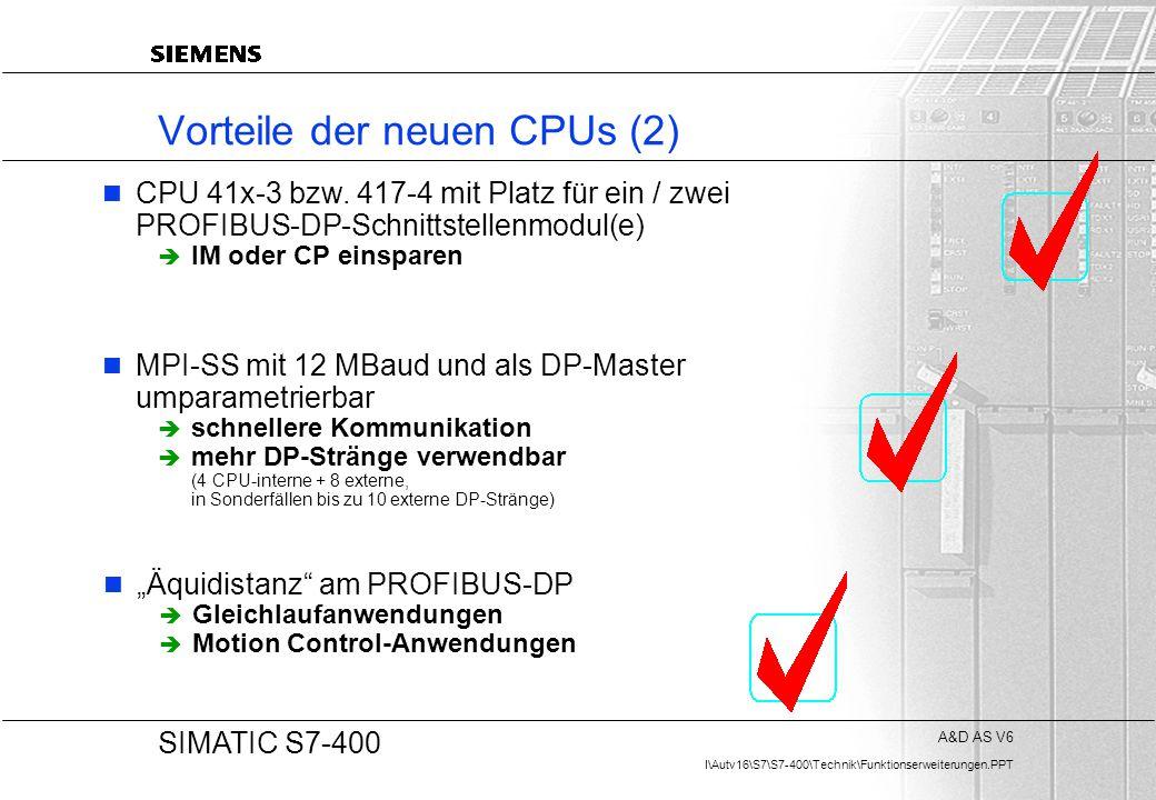 Vorteile der neuen CPUs (2)