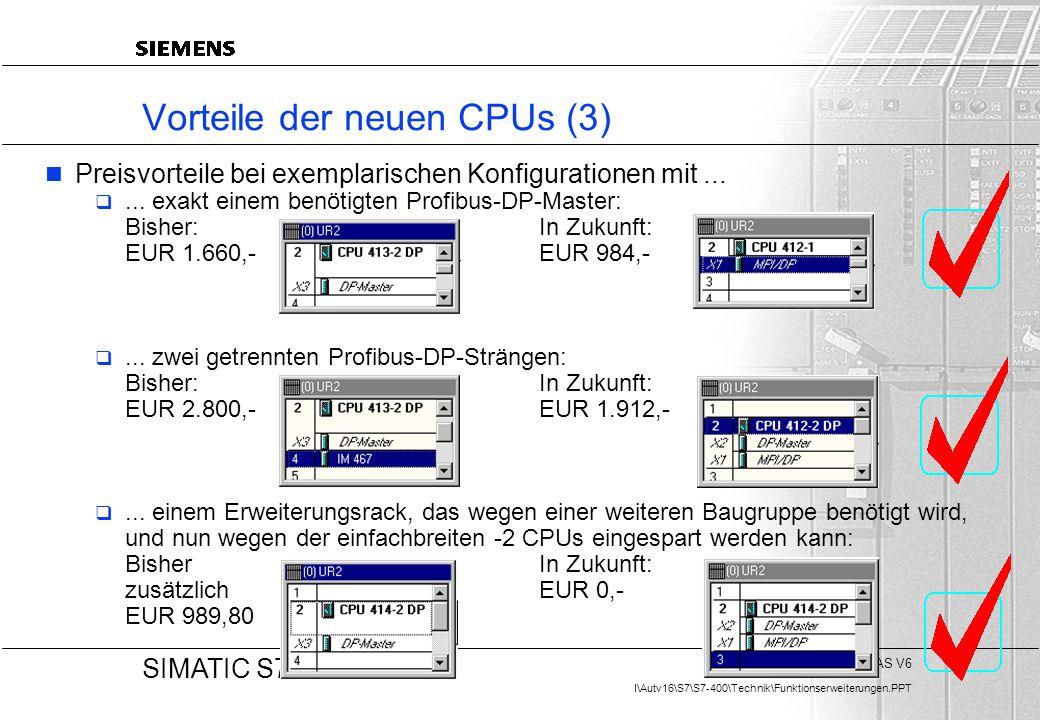Vorteile der neuen CPUs (3)