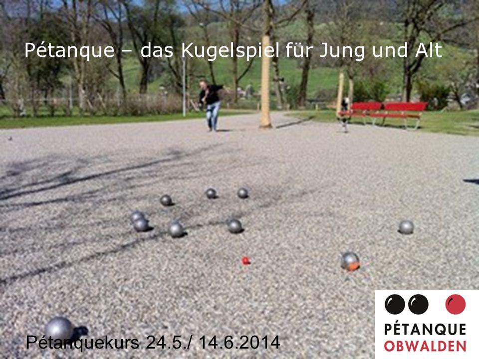 Pétanque – das Kugelspiel für Jung und Alt