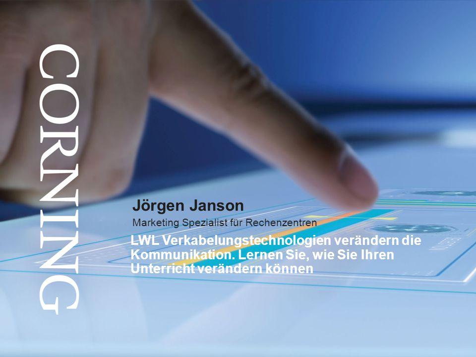 Jörgen Janson Marketing Spezialist für Rechenzentren.