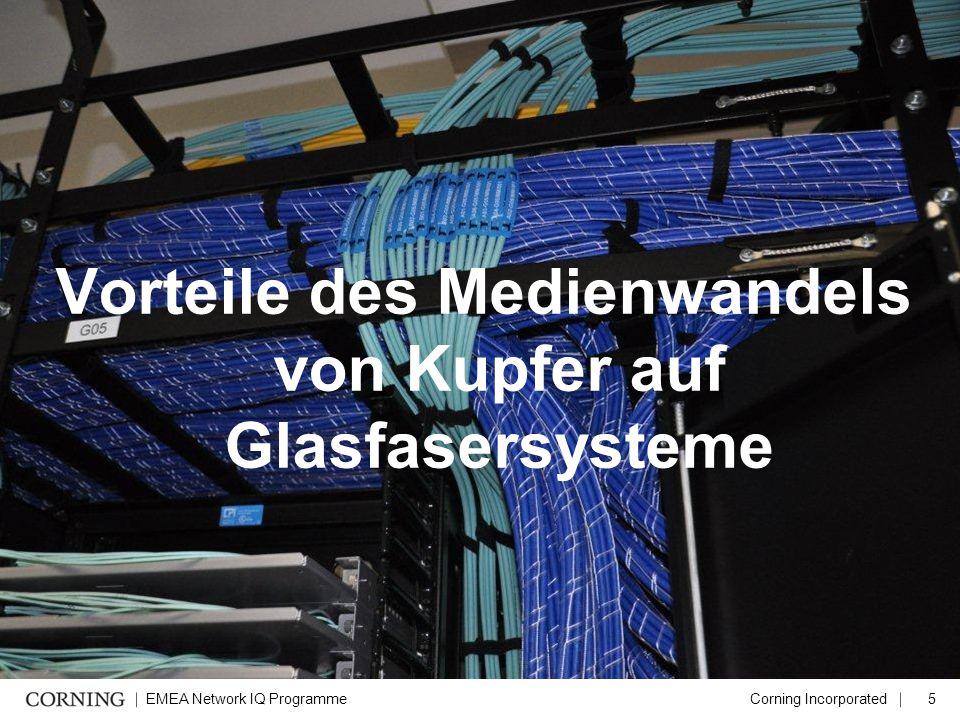 Vorteile des Medienwandels von Kupfer auf Glasfasersysteme