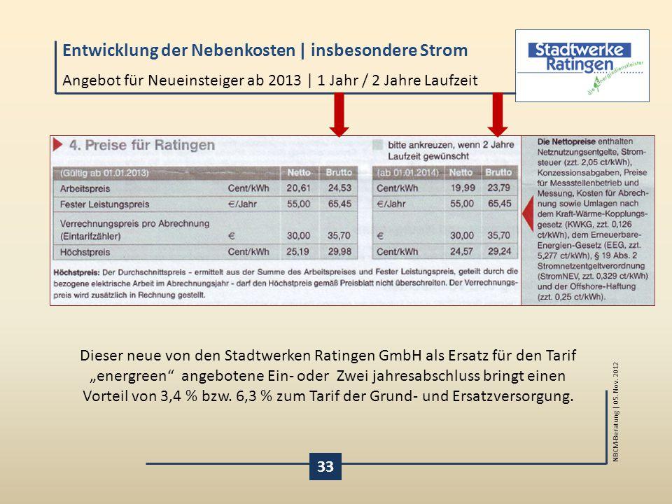 Angebot für Neueinsteiger ab 2013 | 1 Jahr / 2 Jahre Laufzeit